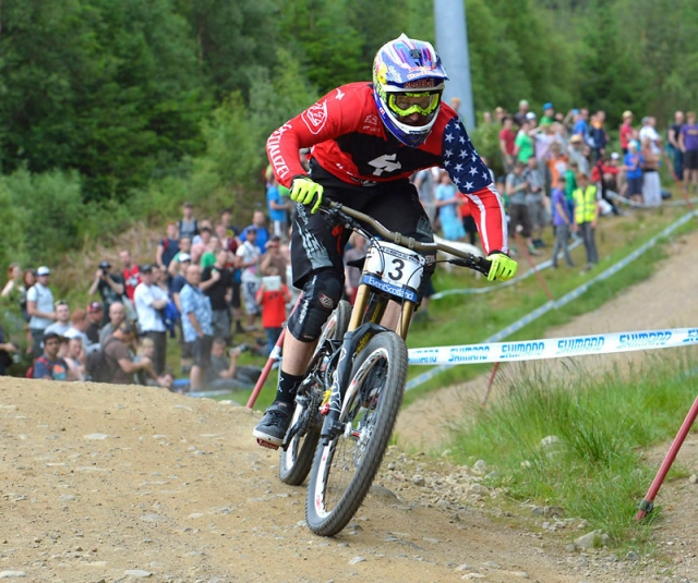 Aaron Gwin finished 20th in the elite men's contest