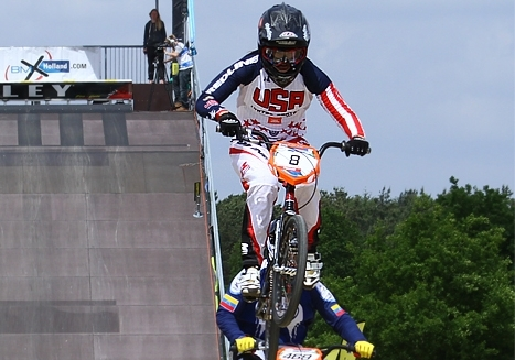 Elite BMX riders have until Oct. 8 to request permanent career numbers