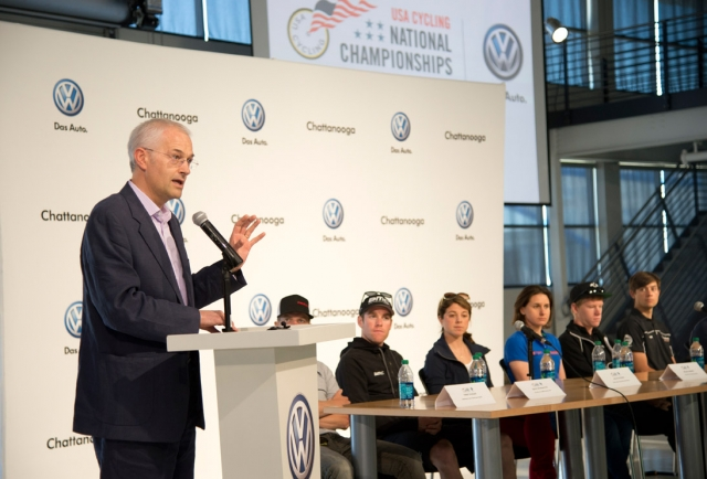 Jonathan Browning of Volkswagen Group of America