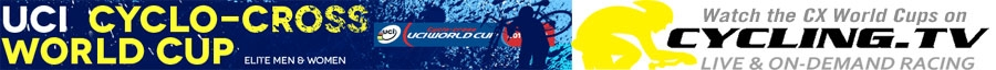 CyclingTV Cyclo-cross World Cup logo