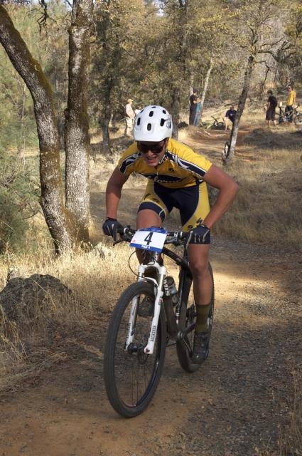Winner of the Men's Cross Country Race, Eliel Anttila of UC Berkeley