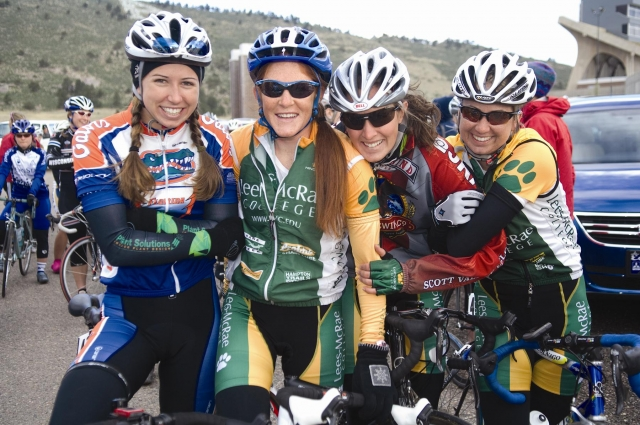 Collegiate women's riders