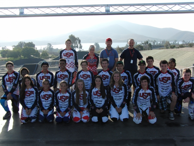 Participants in the 2013 Junior Development Camp #4 are shown at the Chula Vista Olympic Training Center