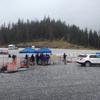 Hail affects Day 2 of racing at Masters Road National Championships