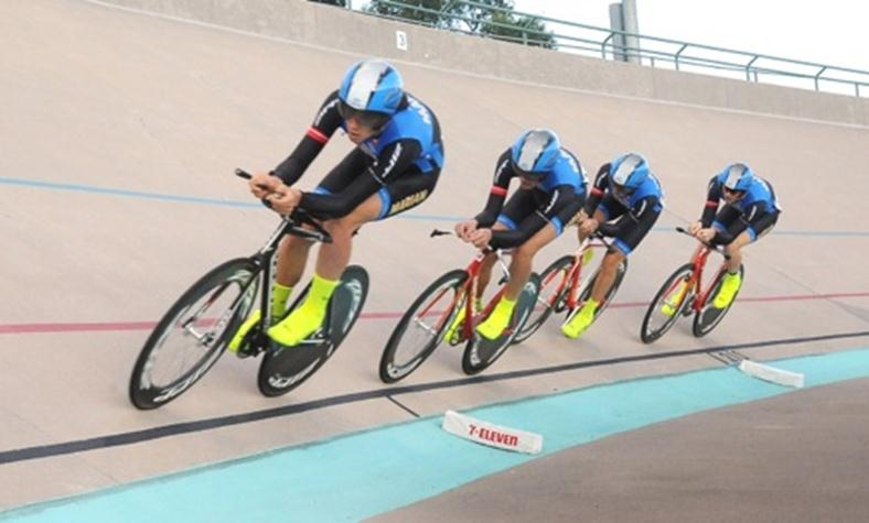 Marian's men's team pursuit squad