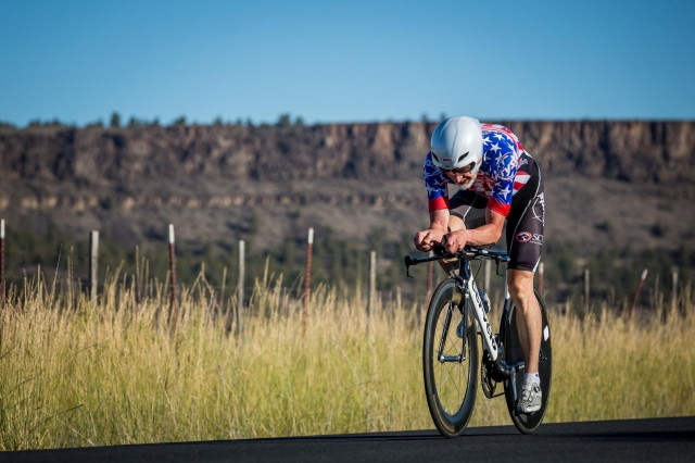 S. Durward Higgins won the men's 70-74 time trial national title
