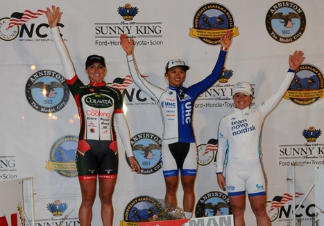 Coryn Rivera won the Sunny King Criterium