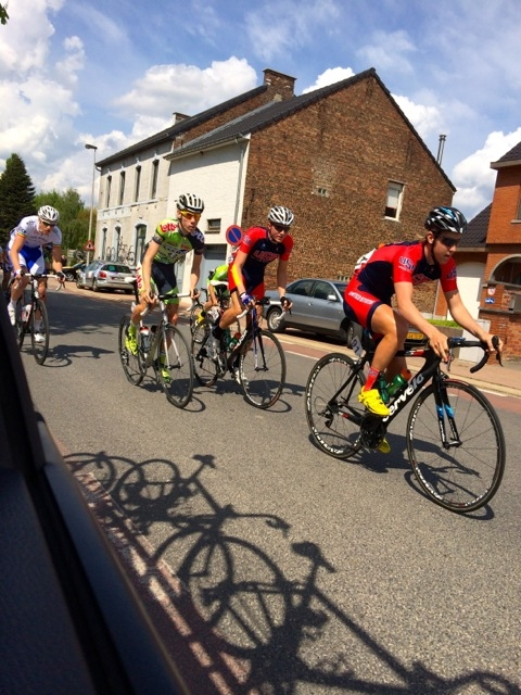 Jonny Brown and Seth Veenbaas race the 2014 Ster van Zuid Limburg