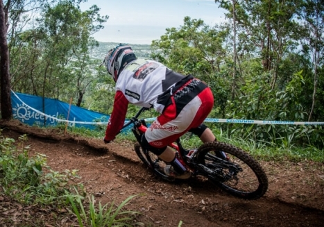 Luca Shaw descends to third place at Mountain Bike World Cup in Leogang