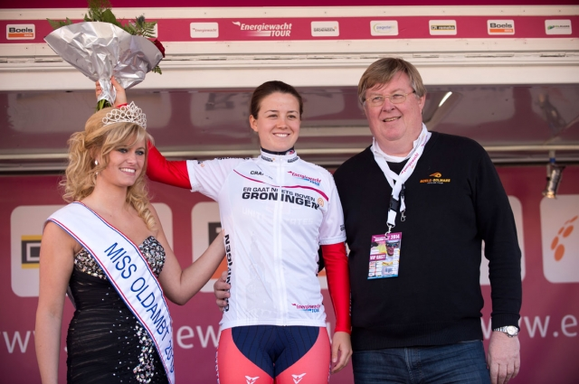 Ruth Winder earned the Best Young Rider jersey after stage 3