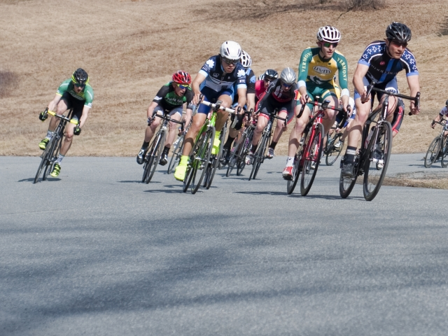 The Men's A Crit at the Nittany Classic (Photo Credit: Sean Kline)