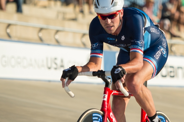Bobby Lea captured his 19th national title with his omnium win at the 2014 USA Cycling Elite Track National Championships in Rock Hill, S.C.
