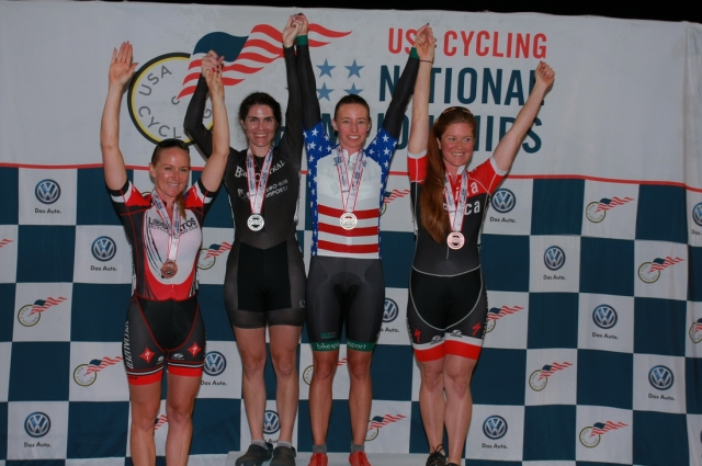 Women's 35-39 sprint podium