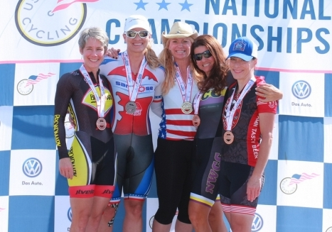 More Stars-and-Stripes jerseys awarded on day two of Masters Track Nationals