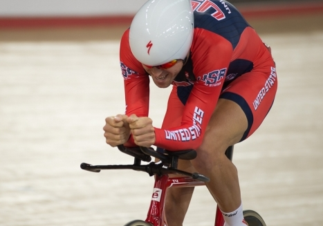 Lea takes men's omnium bronze at World Cup