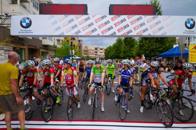 2013 SRS Women's race start