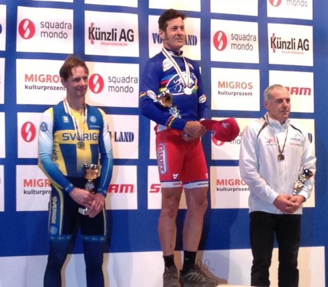 Henry Kramer topped the men's 55-59 podium