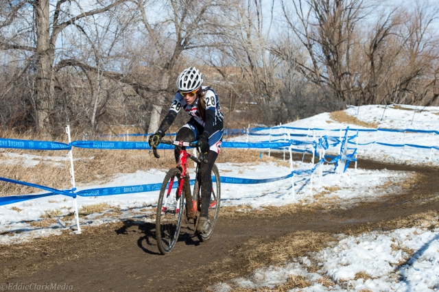 Katie Clouse dominated the juniors women's 13-14 race