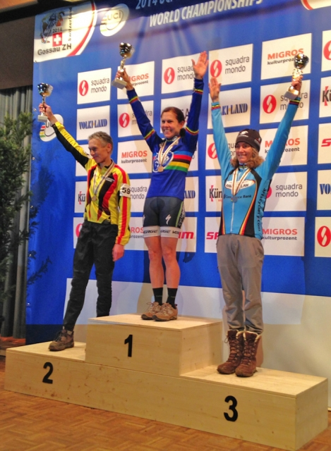 Lori Cooke topped the women's 50+ podium