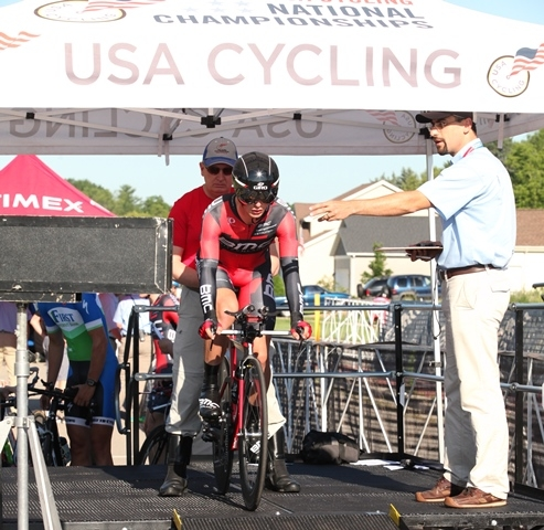A total of 35 divisions contested the time trial courses in Waterloo, Wisconsin, on July 4