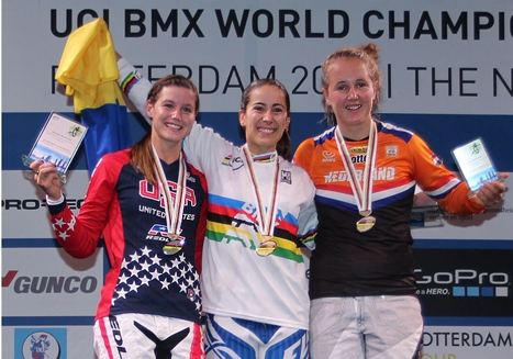 Team USA earns three silver medals as BMX Worlds conclude with Supercross finals