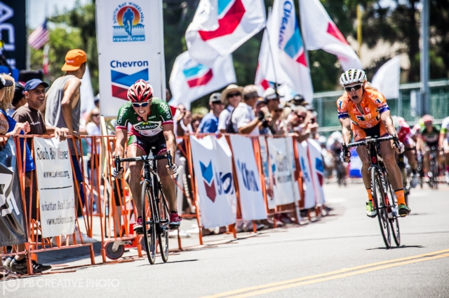 Erica Allar won the Chevron Manhattan Beach Grand Prix.