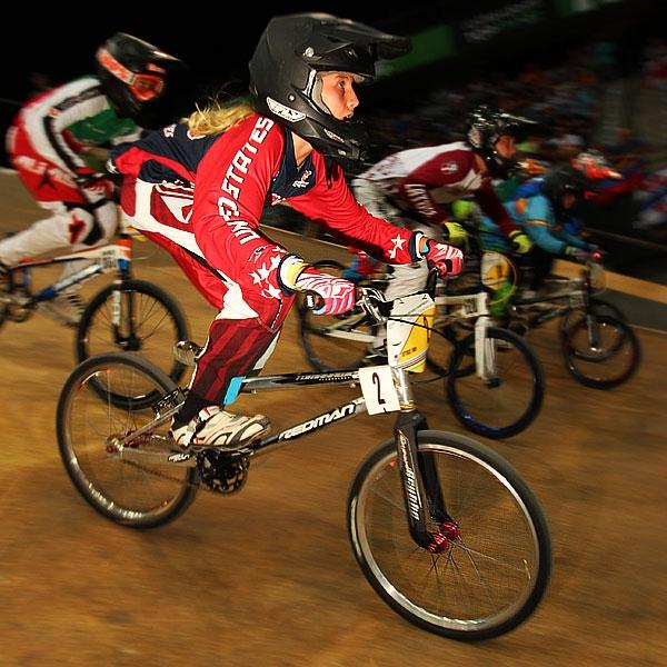 Jordan Scott was victorious among 13-year-old girls.