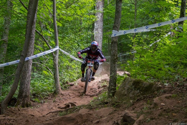 Neko Mullaly took over the top spot in the men's Pro GRT standings with his win at Snowshoe
