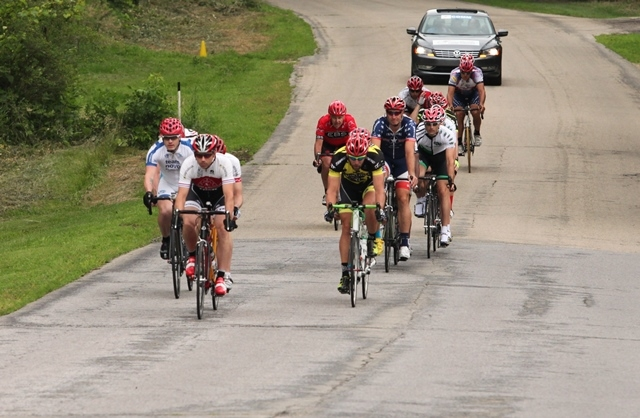 Para-cycling road races started the day in Rockdale, Wis.