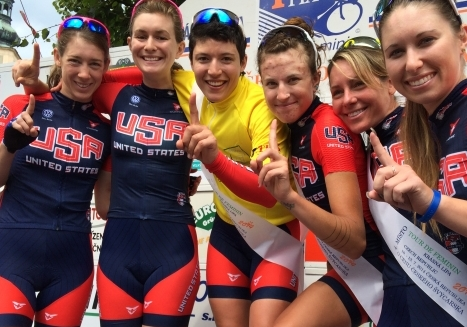 Devo Wrap: Brianna Walle, women's team wins Tour de Feminin