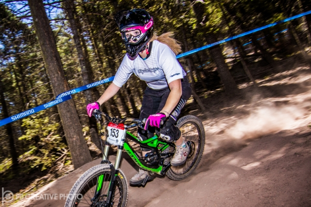 Makayla Weist had the fastest time in the women's cat 2 19-29 class