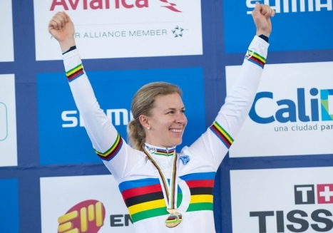 Hammer makes it back-to-back omnium titles at Track Worlds