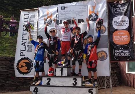 Aaron Gwin won the men's race