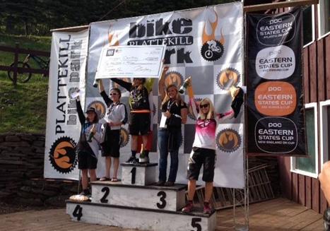 Kristen Courtney won the women's race