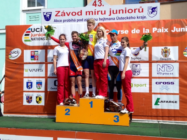 Will Barta placed second in the individual time trial at the 2014 Course de la Paix