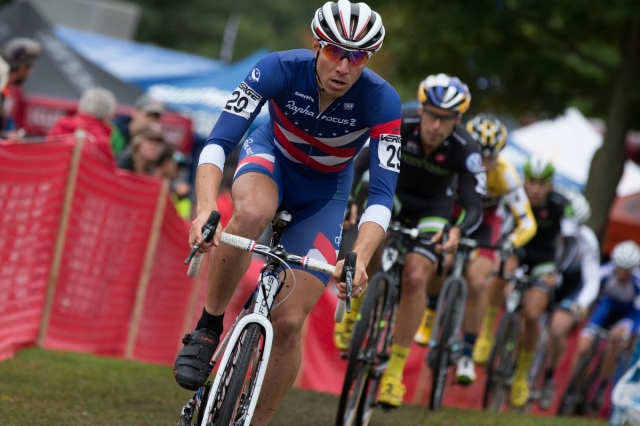 Jeremy Powers remained atop the Pro CX standings with a win at the 2014 KMC Cyclo-cross Festival in Providence, R.I.