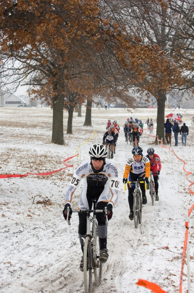 If you don't already, you might consider giving cyclo-cross a try this winter.