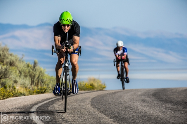 Antelope Island played host to the time trials competition on Sept. 3.