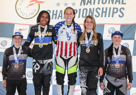 Marian University riders dominate Collegiate BMX Nationals in Georgia