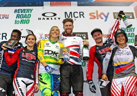 Long, Post Find the Podium at Supercross World Cup in Manchester