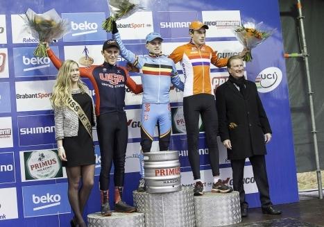 Hecht Earns Top Result in Hoogerheide's Cyclo-cross World Cup Finale