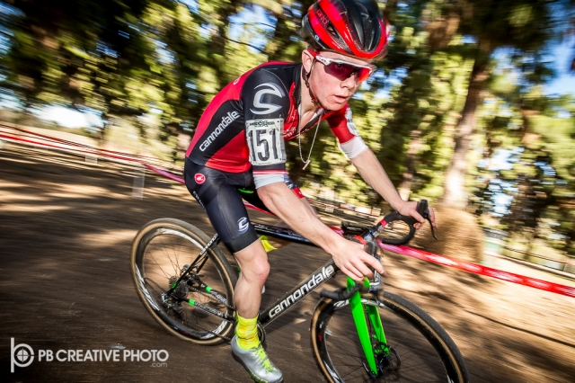 Cameron Beard (Cyclocrossworld.com Development) swept both days of the UCI Junior 17-18 class.
