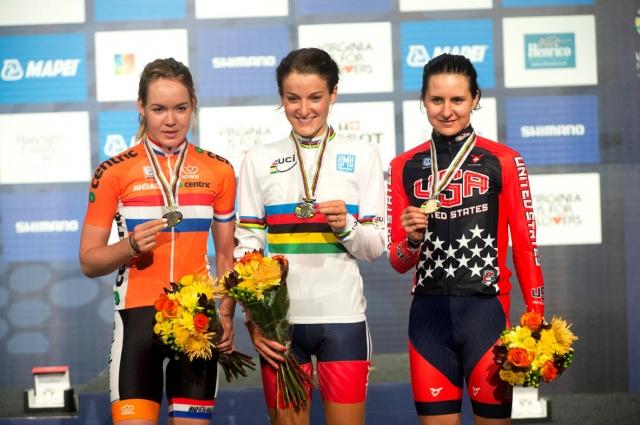 elite women's RR podium