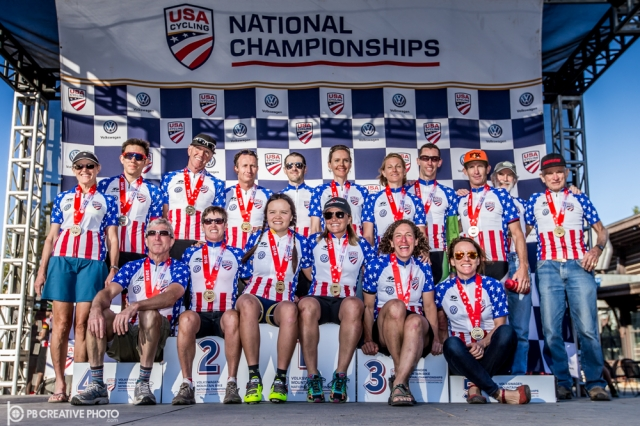 All of the national champions from day 2.