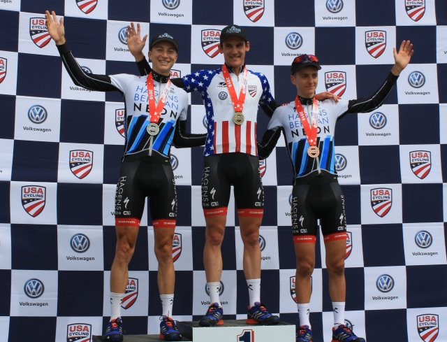 Axeon dominates at Amateur Road Nationals