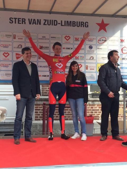 Ian Garrison took the Sprint Jersey at Ster van Zuid Limburg on March 27.