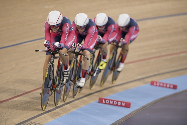 The U.S. women defeated Canada for the UCI World Championship win.