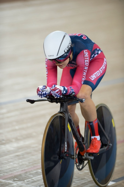 Winder fell to Canada's Annie Foreman-Mackey in the bronze medal race.