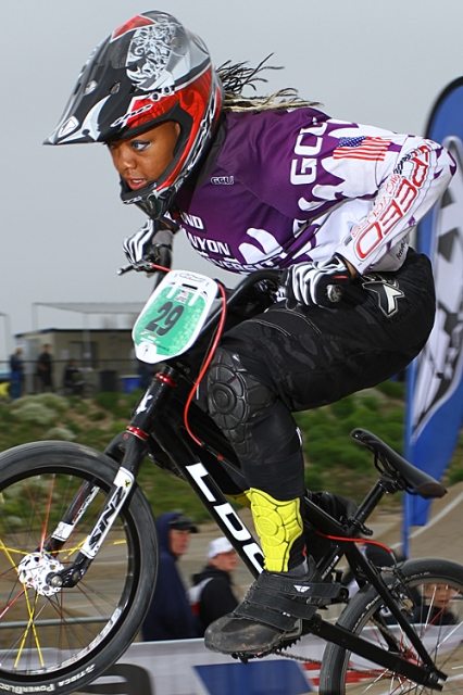 Dominique Daniels won the intra-collegiate National Championship in the Elite Women's class for Grand Canyon University.