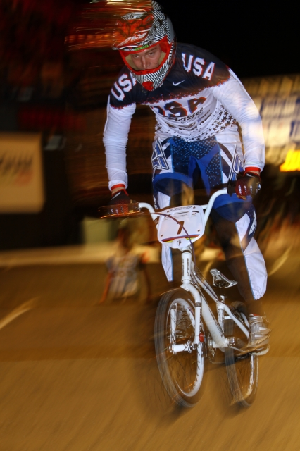Connor Fields won the 2012 superfinal time trial world championship. Photo: Jerry Landrum